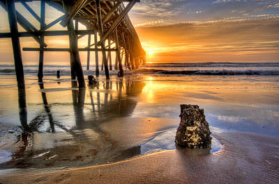 Photograph - Sunrise In Myrtle Beach by Brent Craft