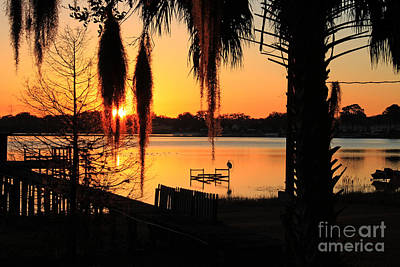 Photograph - Sunrise On Lake Weir - 4 by Tom Doud