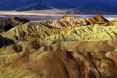 Amargosa Photograph - Sunrise Over Death Valley by Babak Tafreshi