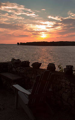 Photograph - Sunrise Over South Bass Island by Haren Images- Kriss Haren