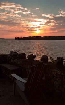 Photograph - Sunrise Over South Bass Island by Haren Images- Kriss Haren