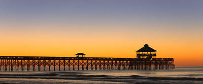 Photograph - Sunrise Pier by E Karl Braun