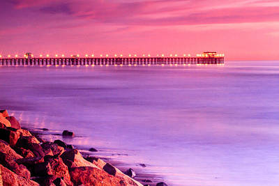 Photograph - Sunset In Oceanside by Ben Graham