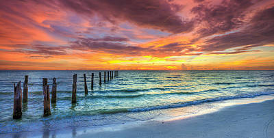 Photograph - Sunset In Paradise by Sean Allen