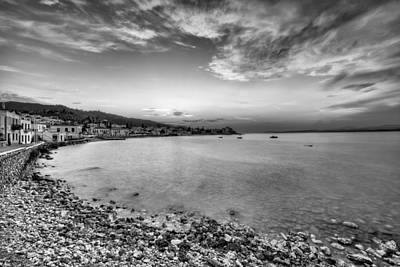Spetses Photograph - Sunset In Spetses Island - Greece by Constantinos Iliopoulos