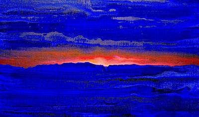 Painting - Sunset 2005 by Karl Leonhardtsberger