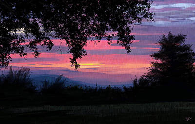 Sunset Art Print by Kate Black