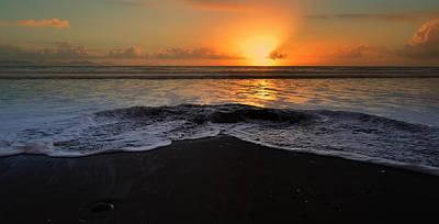 Kinard Photograph - Sunset Kinard Beach by Barbara Walsh