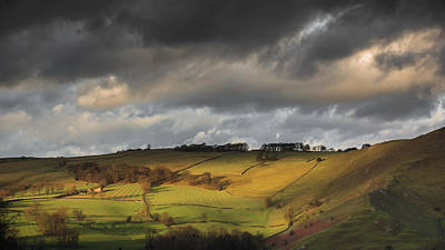 Derbyshire Photograph - Sunset Light by Chris Fletcher