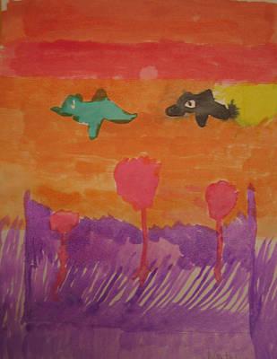 Sunset Original by Natalie Jordan