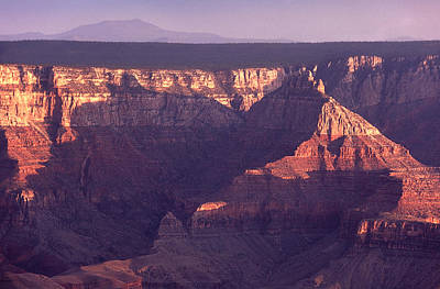 Grand Canyon Photograph - Sunset North Rim Grand Canyon by Liz Leyden