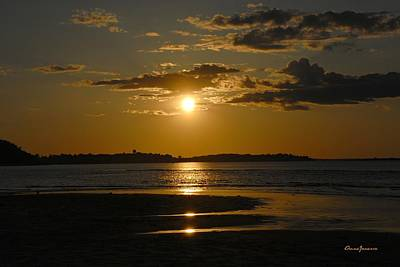 Photograph - Sunset On Crane Beach by AnnaJanessa PhotoArt