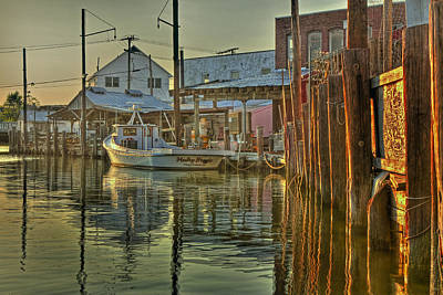 Photograph - Sunset On The Haley Brooke by Jerry Gammon