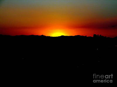 Photograph - Sunset Over Arizona by John Potts