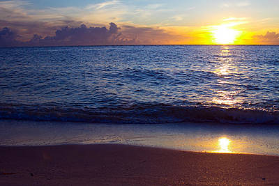Sunset Over Boca Grande  Florida Art Print by Fizzy Image