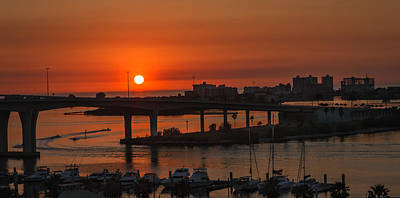 Photograph - Sunset Over The Bridge by Jane Luxton