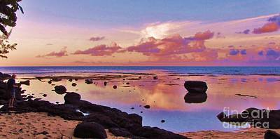 Photograph - Sunset Reflection by Michele Penner