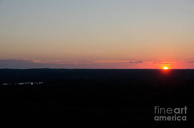 Photograph - Sunset View From The Fire Tower 6 by Cassie Marie Photography