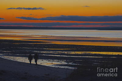 Photograph - Sunset Walk by Amazing Jules