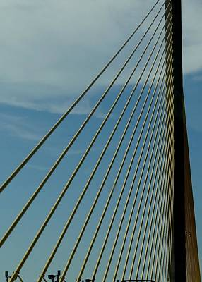 Photograph - Sunshine Skyway Bridge by Keith Stokes