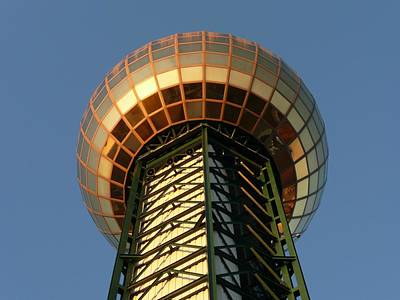 Photograph - Sunsphere by Keith McGill