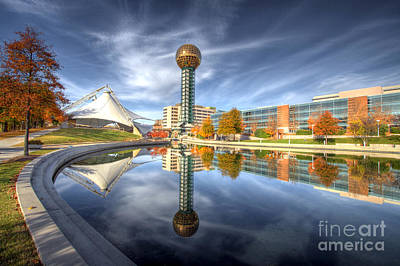 Photograph - Sunsphere by Photography by Laura Lee