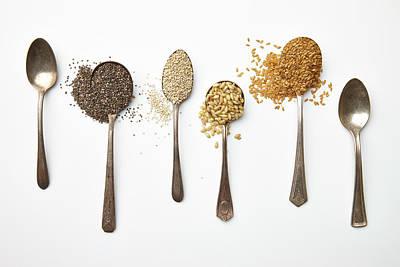 Super Food Grains Art Print by Lew Robertson