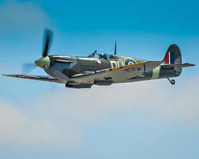 Supermarine Spitfire Mk.vc Art Print