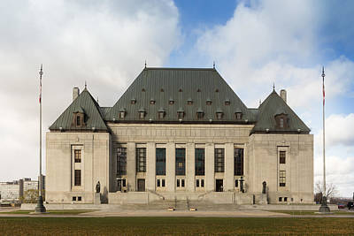 Supreme Court Of Canada Building Art Print