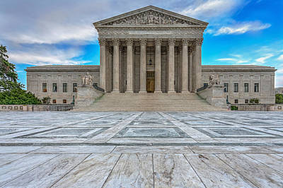 Art Print featuring the photograph Supreme Court by Peter Lakomy