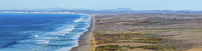 Point Reyes National Seashore Photograph - Surf On The Beach, Point Reyes National by Panoramic Images