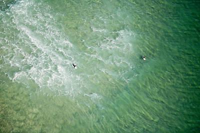 Surfers, Gold Coast Art Print by Brett Price