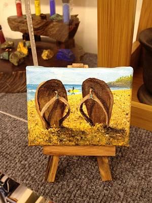 Painting - Surfs Up by Darice Machel McGuire