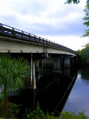 Photograph - Suwannee River Bridge by Sheri McLeroy