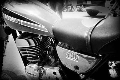 Photograph - Suzuki 400 by Kelly Hazel