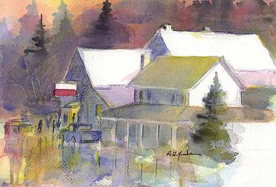 Maryland Painting - Swanton Mall  by Robert Yonke