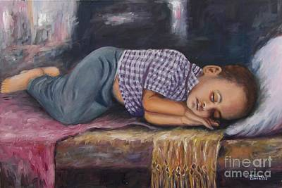 Painting - Sweet Dream by Samuel Daffa