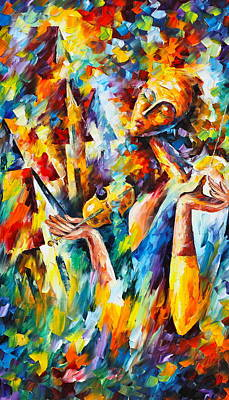 Sweet Dreams Print by Leonid Afremov