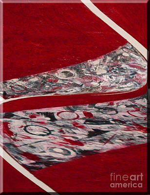 Swirl Art Print by Gabriele Mueller