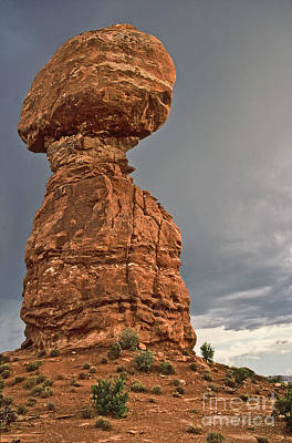Photograph - Swollen Thumb  Arches National Park  Utah by Liz Leyden