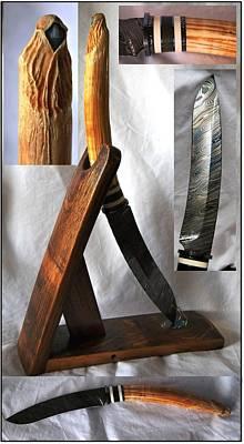 Hippopotamus Mixed Media - Sword Of An Archangel by Victor Harley