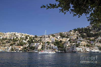 Symi Photograph - Symi Island In Greece  by IB Photo