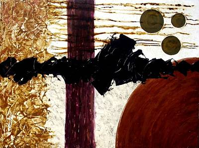Autumn Landscape Mixed Media - Symphony by Holly Anderson