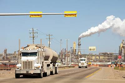 Destruction Photograph - Syncrude Upgrader Plant by Ashley Cooper