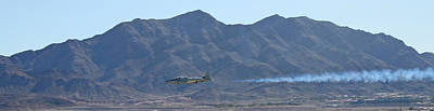 T33 Photograph - T-33 Shooting Star Flyby Nellis by Carl Deaville