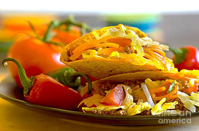 Photograph - Tacos by Danny Hooks