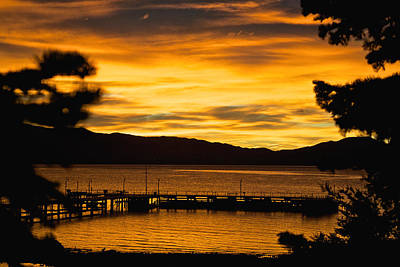 Photograph - Tahoe Sunrise by Steven Lapkin