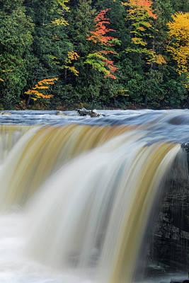 Northwoods Photograph - Tahquamenon Falls, Tahquamenon Falls by Adam Jones