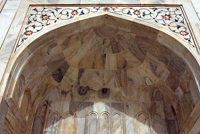 Photograph - Taj Mahal Facade by Aidan Moran