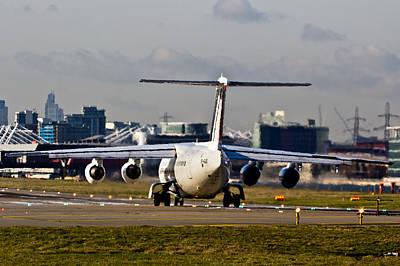 Passenger Plane Photograph - Take Off From London by David Pyatt